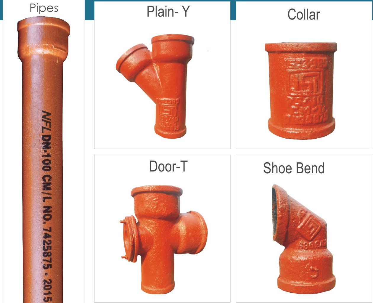 Iron Casting Fittings